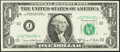 Small Size:Federal Reserve Notes, Fr. 1907-J* $1 1969D Federal Reserve Star Note. Choice Crisp Uncirculated.. ...