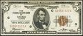 Fr. 1850-G $5 1929 Federal Reserve Bank Note. Very Fine+