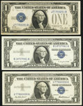 $1 Silver Certificates Very Fine or Better