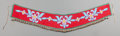 American Indian Art:Beadwork and Quillwork, A Plateau Beaded Cloth Martingale. c. 1900...