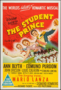 """The Student Prince (MGM, 1954). Australian One Sheet (27"""" X 40""""). Musical"""