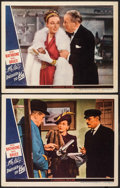 "Movie Posters:Mystery, Dressed to Kill (Universal, 1946). Lobby Cards (2) (11"" X 14""). Mystery.. ... (Total: 2 Items)"