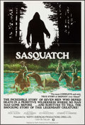 "Movie Posters:Adventure, Sasquatch (North American Film Enterprises, 1977). One Sheet (27"" X41""). Adventure.. ..."
