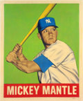 """Baseball Collectibles:Others, 2015 Mickey Mantle """"Card that Never Was"""" Original Artwork by Arthur Miller...."""