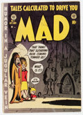 Golden Age (1938-1955):Humor, MAD #1 (EC, 1952) Condition: GD/VG....