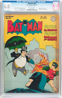 Batman #38 (DC, 1946) CGC FN 6.0 Off-white pages