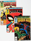 Modern Age (1980-Present):Superhero, Spectacular Spider-Man #52-57 Box Lot (Marvel, 1981) Condition:FN/VF....