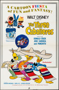 """Movie Posters:Animation, The Three Caballeros (Buena Vista, R-1977). One Sheet (27"""" X 41""""). Animation.. ..."""