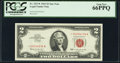 Small Size:Legal Tender Notes, Fr. 1513* $2 1963 Legal Tender Star Note. PCGS Gem New 66PPQ.. ...