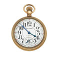 Timepieces:Pocket (post 1900), Waltham 21 Jewel Riverside Open Face Pocket Watch. ...