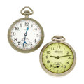 Timepieces:Pocket (post 1900), Elgin Father Time 21 Jewels & Beacon Pocket Watches. ... (Total: 2 Items)