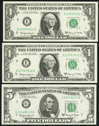 1963A Federal Reserve Notes Choice Crisp Uncirculated