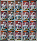 Football Cards:Singles (1970-Now), 1984 Topps Dan Marino #123 Rookie Card Collection (20). ...