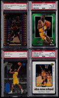 Basketball Cards:Lots, 1996-99 Kobe Bryant PSA Graded Card Collection (4)....