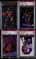 Basketball Cards:Lots, 1996-2002 Kobe Bryant Graded Card Collection (4)....