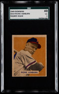 Baseball Cards:Singles (1940-1949), 1949 Bowman Richie Ashburn #214 SGC 40 VG 3....