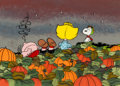 Animation Art:Production Drawing, It's the Great Pumpkin, Charlie Brown Book Illustration Celand Background (Bill Melendez, 1978).... (Total: 2 )
