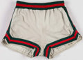 Basketball Collectibles:Uniforms, 1974-75 Steve Kuberski Game Worn Milwaukee Bucks Shorts - With TeamLOA....