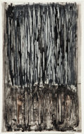 Works on Paper, Arnaldo Pomodoro (Italian, b. 1926). Untitled, 1957. Ink wash on paper. 17-5/8 x 10-3/4 inches (44.8 x 27.4 cm) (sheet)...