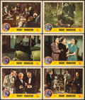 "Movie Posters:Horror, Night Monster (Universal, 1942). Lobby Cards (6) (11"" X 14"").Horror.. ... (Total: 6 Items)"