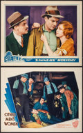 """Movie Posters:Drama, Other Men's Women & Other Lot (Warner Brothers, 1931). LobbyCards (2) (11"""" X 14""""). Drama.. ... (Total: 2 Items)"""