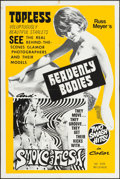 "Movie Posters:Exploitation, Heavenly Bodies!/Smoke and Flesh Combo & Other Lot (Eve Productions, 1968). One Sheets (2) (27"" X 41"" & 28"" X 42""). Exploita... (Total: 2 Items)"