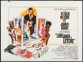 "Movie Posters:James Bond, Live and Let Die (United Artists, 1973). British Quad (29.75"" X39.75""). James Bond.. ..."