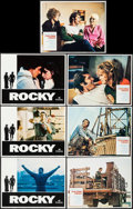 "Movie Posters:Academy Award Winners, Rocky & Other Lot (United Artists, 1977). Lobby Cards (7) (11""X 14""). Academy Award Winners.. ... (Total: 7 Items)"