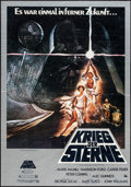 "Movie Posters:Science Fiction, Star Wars (20th Century Fox, 1977). German A1 (23.5"" X 33"").Science Fiction.. ..."