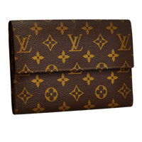 Louis Vuitton Classic Monogram Canvas Wallet