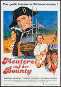 "Movie Posters:Adventure, Mutiny on the Bounty (MGM, R-1970s). German A1 (23.25"" X 33"").Adventure.. ..."