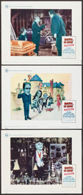 """Movie Posters:Comedy, Munster, Go Home (Universal, 1967). German A1 (23.25"""" X 33"""") &Lobby Cards (3) (11"""" X 14""""). Comedy.. ... (Total: 4 Items)"""
