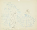 Animation Art:Production Drawing, Sword in the Stone Background Layout Animation Drawing Group of 3 (Walt Disney, 1963).... (Total: 3 Original Art)