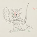 Animation Art:Color Model, Dumbo Timothy Mouse Color Model Animation Drawing (WaltDisney, 1941)....