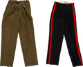 Military & Patriotic:Foreign Wars, 2 Pairs of British Military Officer's Trousers.... (Total: 2 )