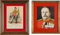 Military & Patriotic:Foreign Wars, Set of Two British Military Prints.... (Total: 2 )