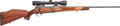 Long Guns:Bolt Action, Weatherby Mark V Bolt Action Rifle with Telescopic Sight....