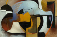 Alice Trumbull Mason (American, 1904-1971) Untitled Oil on canvas 32 x 48 inches (81.3 x 121.9 cm