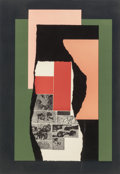 Prints, Louise Nevelson (American, 1899-1988). Celebration #6, 1979. Aquatint and etching on paper. 38-1/2 x 27 inches (97.8 x 6...