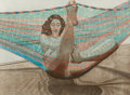 Fine Art - Work on Paper:Print, Philip Pearlstein (American, b. 1924). Nude in Hammock, 1982. Lithograph in colors on wove paper. 30 x 40-1/2 inches (76...