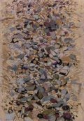 Fine Art - Work on Paper:Drawing, Idelle Weber (American, b. 1932). Pebbles IV, 1987. Pastelon washed Arches. 44 x 30 inches (111.8 x 76.2 cm) (sheet). S...