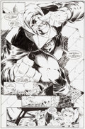 Original Comic Art:Splash Pages, Todd Nauck and Lary Stucker Badrock and Company #4 SplashPage 6 Original Art (Image, 1994)....