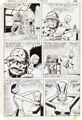 Original Comic Art:Panel Pages, Alan Kupperberg and Jon D'Agostino Marvel Two-In-One #95 Page 2 Original Art (Marvel, 1983)....