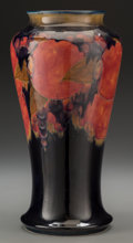 Ceramics & Porcelain, British:Modern  (1900 1949)  , A William Moorcroft Pottery Vase, Burslem (Stoke-on-Trent),England, circa 1916-1928. Marks: MOORCROFT, BURSLEM, ENGLAND,...