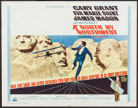 "North by Northwest (MGM, R-1966). Half Sheet (22"" X 28""). Hitchcock"
