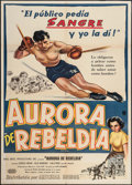 "Movie Posters:Sports, The Ring (United Artists, 1952). Argentinean Poster (29"" X 43""). Sports.. ..."