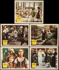 "The Blue Bird (20th Century Fox, 1940). Lobby Cards (5) (11"" X 14""). Fantasy. ... (Total: 5 Items)"
