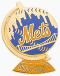 Baseball Collectibles:Others, 1973 New York Mets World Series Press Pin....