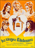 "Movie Posters:Sexploitation, Brazen Women of Balzac (Les films Marbeuf, 1970). French Grande(45.5"" X 63""). Sexploitation.. ..."