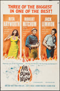 """Movie Posters:Adventure, Fire Down Below & Other Lot (Columbia, 1957). One Sheets (2)(27"""" X 41""""). Adventure.. ... (Total: 2 Items)"""